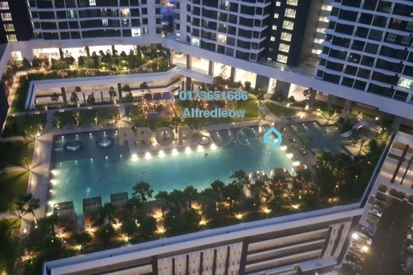 For Rent Condominium at KL Traders Square, Kuala Lumpur Freehold Unfurnished 4R/2B 1.5k