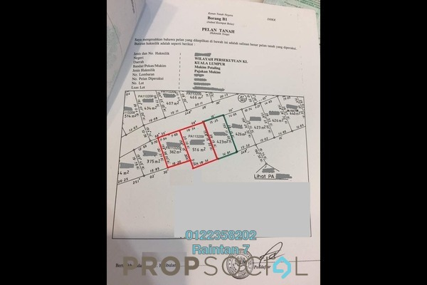 For Sale Land at Taman Desa Petaling, Desa Petaling Leasehold Unfurnished 0R/0B 1.23m