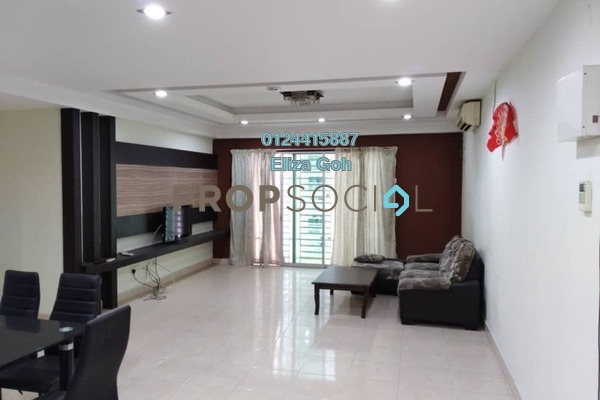 For Sale Condominium at Sea View Tower, Butterworth Freehold Semi Furnished 4R/2B 370k