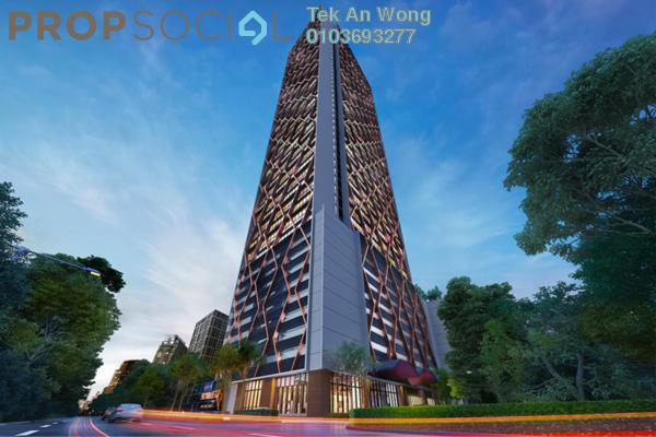 For Sale SoHo/Studio at Scarletz Suites, KLCC Freehold Fully Furnished 2R/2B 900k