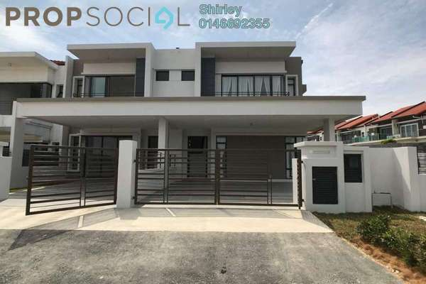 For Sale Superlink at Bandar Baru Sungai Buloh, Sungai Buloh Freehold Unfurnished 4R/4B 686k