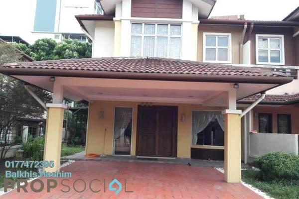 For Rent Semi-Detached at Section 7, Shah Alam Freehold Fully Furnished 4R/3B 5k