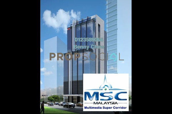 For Rent Office at KYM Tower, Mutiara Damansara Freehold Semi Furnished 0R/0B 18k