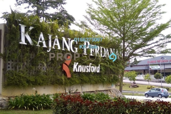 For Sale Terrace at Taman Jelok Indah, Kajang Freehold Semi Furnished 3R/2B 395k