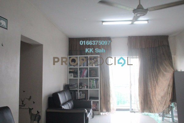 For Sale Condominium at Seri Cendekia Apartment, Cheras Freehold Semi Furnished 3R/2B 328k