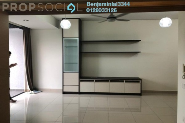 For Sale Serviced Residence at The Leafz, Sungai Besi Freehold Semi Furnished 2R/2B 688k