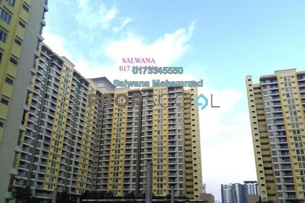 For Sale Condominium at Platinum Lake PV13, Setapak Freehold Unfurnished 3R/2B 470k