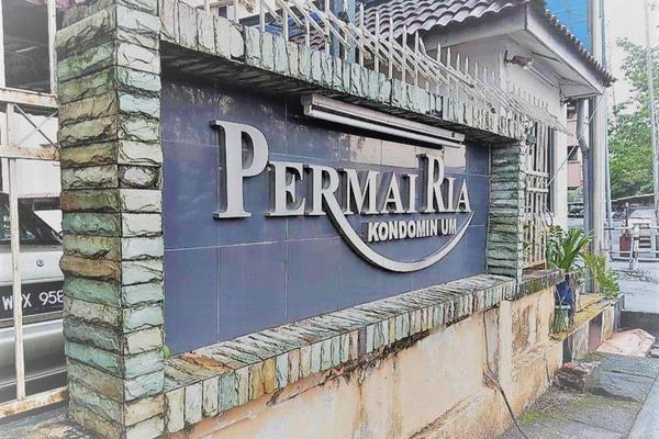 For Sale Condominium at Permai Ria, Jalan Ipoh Freehold Semi Furnished 3R/2B 330k