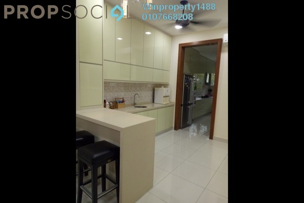 For Sale Terrace at D'Island, Puchong Freehold Semi Furnished 5R/5B 1.4m