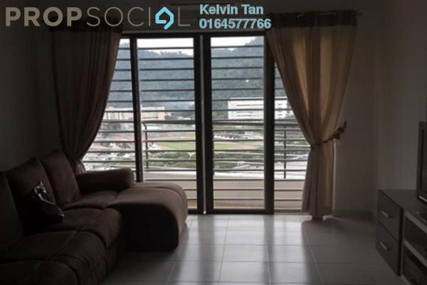 For Rent Condominium at Palm Palladium, Gelugor Freehold Semi Furnished 3R/2B 1.5k
