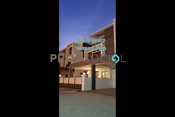 For Sale Semi-Detached at Skycube Residence, Sungai Ara Freehold Fully Furnished 4R/4B 1.55m
