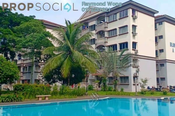 For Sale Apartment at Sri Kesidang, Bandar Puchong Jaya Freehold Semi Furnished 3R/2B 270k