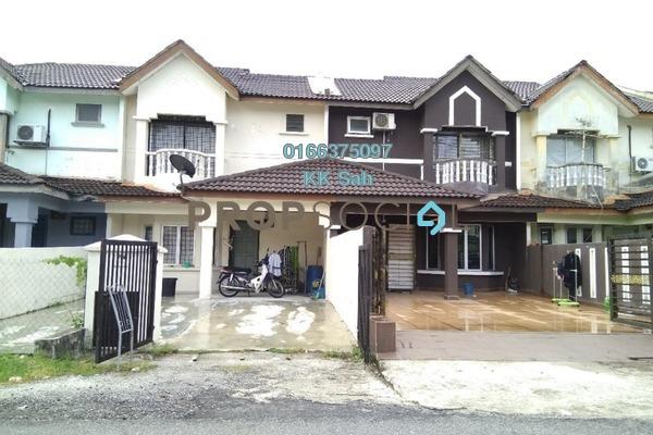 For Sale Link at Bandar Armada Putra, Port Klang Leasehold Semi Furnished 3R/3B 238k