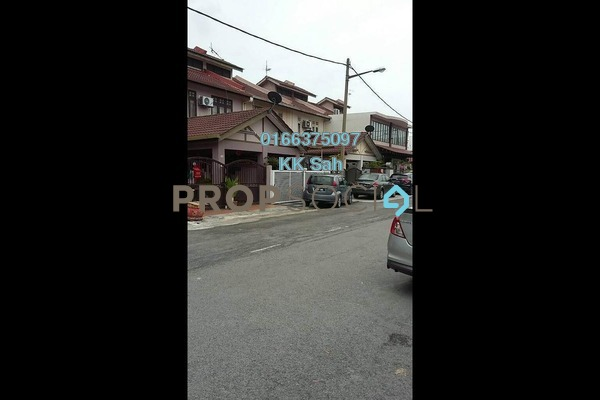 For Sale Link at Taman Klang Utama, Klang Freehold Semi Furnished 4R/2B 388k