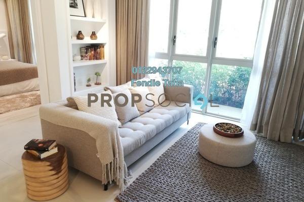 For Sale Condominium at Cantara Residences, Ara Damansara Freehold Semi Furnished 1R/1B 530k