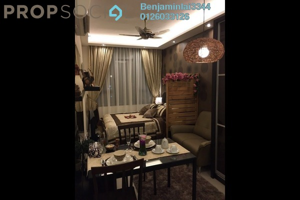 For Rent SoHo/Studio at Centrestage, Petaling Jaya Freehold Fully Furnished 0R/1B 1.6k