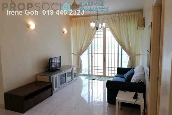 For Rent Condominium at Gold Coast, Bayan Indah Freehold Fully Furnished 3R/2B 2.5k