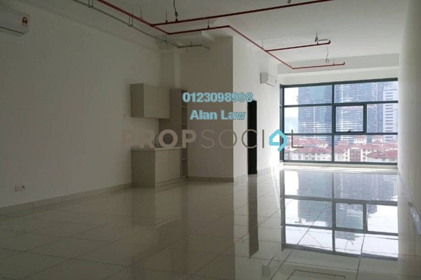 For Rent Office at 3 Towers, Ampang Hilir Freehold Semi Furnished 0R/1B 2.5k