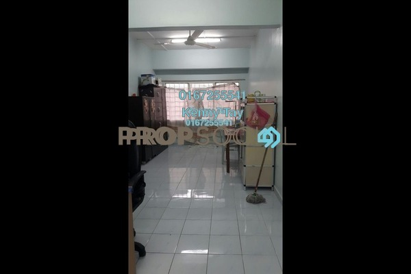 For Sale Condominium at Taman Mastiara, Jalan Ipoh Freehold Semi Furnished 3R/2B 230k