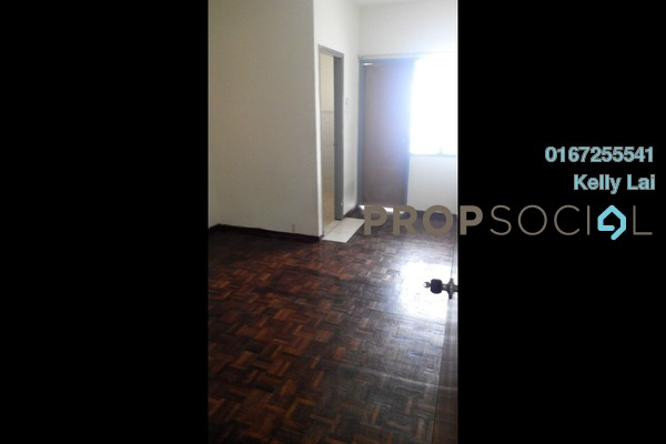 For Sale Condominium at Pelangi Indah, Jalan Ipoh Freehold Semi Furnished 3R/2B 315k