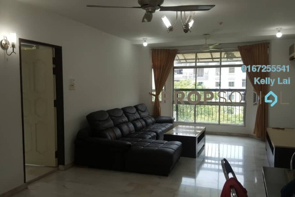 For Rent Apartment at Nova I, Segambut Freehold Semi Furnished 1R/1B 1.2k
