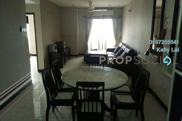 For Sale Condominium at Bougainvilla, Segambut Freehold Semi Furnished 3R/2B 390k