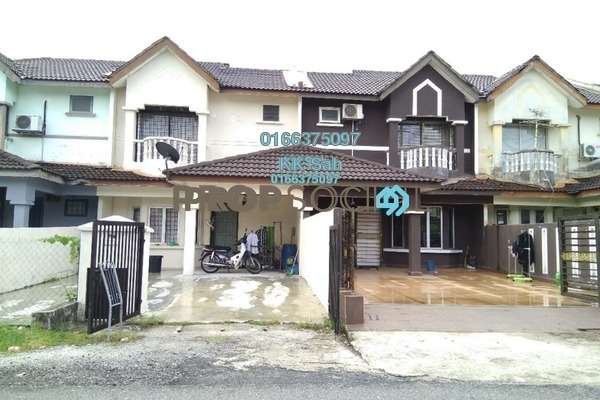 For Sale Link at Bandar Armada Putra, Port Klang Freehold Semi Furnished 3R/3B 238k