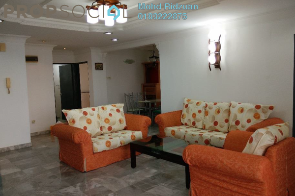 For Sale Condominium at Endah Villa, Sri Petaling Freehold Semi Furnished 3R/2B 450k