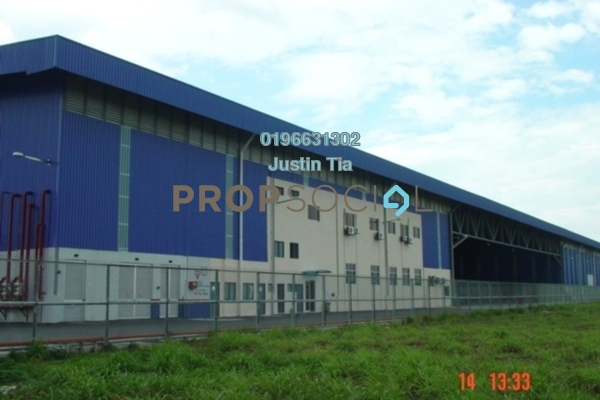 For Rent Factory at Pulau Indah Industrial Park, Port Klang Freehold Fully Furnished 0R/0B 212k