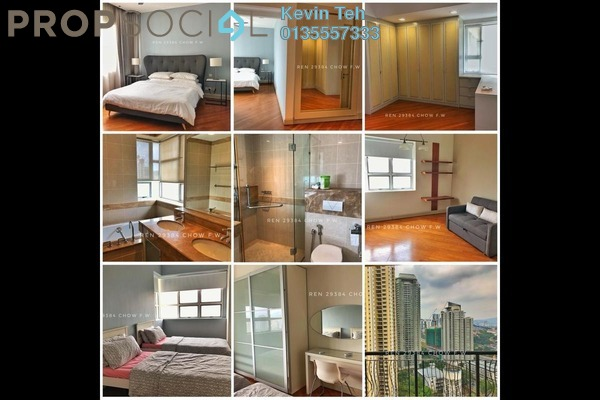 For Sale Condominium at Mont Kiara Aman, Mont Kiara Freehold Fully Furnished 3R/3B 1.65m