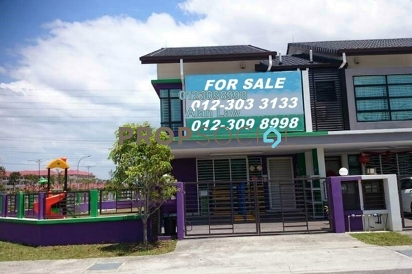 For Sale Terrace at Geta, Bandar Bukit Raja Freehold Unfurnished 4R/3B 1.2m