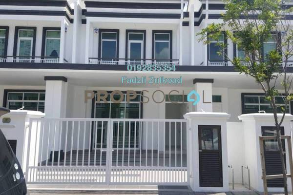 For Rent Terrace at Eco Majestic, Semenyih Freehold Semi Furnished 4R/2B 1.8k