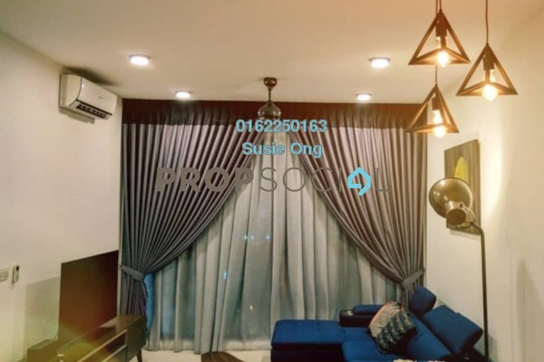 For Rent Serviced Residence at Three28 Tun Razak, KLCC Freehold Fully Furnished 2R/2B 4k