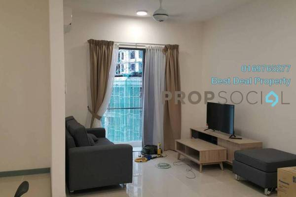 For Rent Serviced Residence at South View, Bangsar South Freehold Fully Furnished 3R/2B 3k