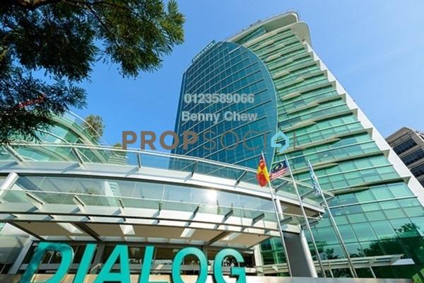 For Rent Office at Dialog Tower, Mutiara Damansara Freehold Semi Furnished 0R/0B 16.5k