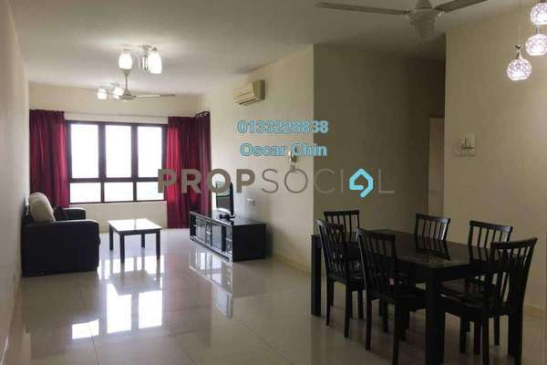 For Rent Condominium at Savanna 1, Bukit Jalil Freehold Fully Furnished 3R/2B 2.1k