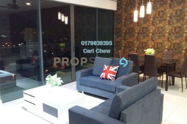 For Rent Condominium at Cristal Residence, Cyberjaya Freehold Fully Furnished 3R/2B 2.5k