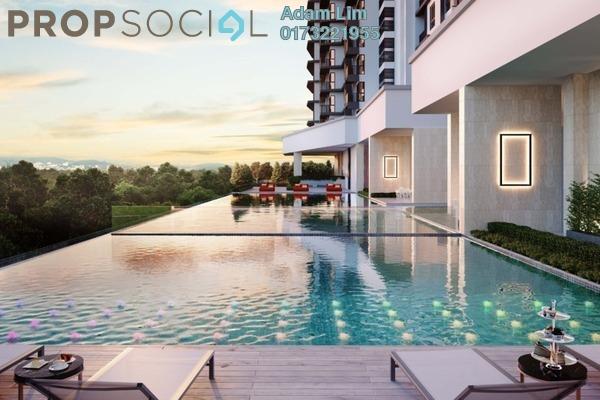 For Sale Condominium at Inspirasi Mont'Kiara, Mont Kiara Leasehold Unfurnished 3R/2B 640k