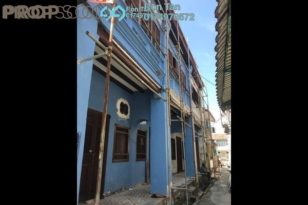 For Sale Terrace at Lorong Stewart, Georgetown Freehold Unfurnished 6R/6B 3.6m