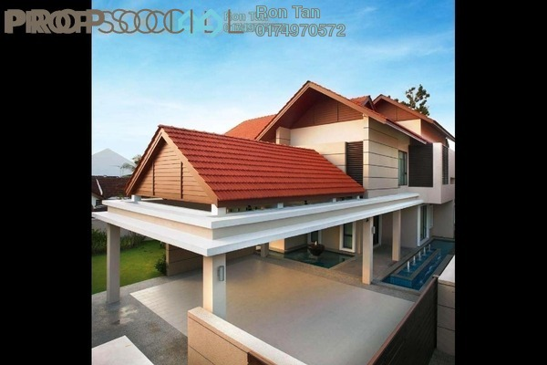For Sale Bungalow at Taman Barat, Georgetown Freehold Fully Furnished 5R/6B 11.5m