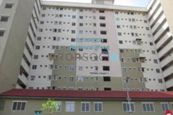 For Rent Apartment at Permai Court 1, Ampang Jaya Freehold Unfurnished 3R/2B 1.0千