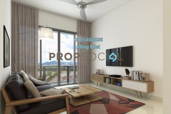 For Sale Condominium at Nadayu 801, Subang Freehold Semi Furnished 3R/4B 570k
