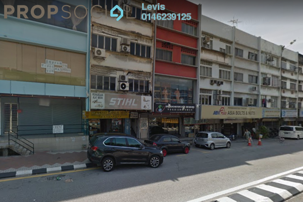 For Rent Shop at Loke Yew Apartment, Pudu Freehold Unfurnished 0R/0B 3.3k