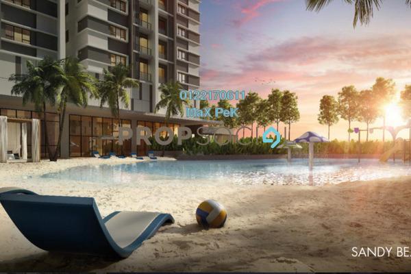 For Sale Condominium at Akasa, Balakong Freehold Semi Furnished 3R/2B 580k