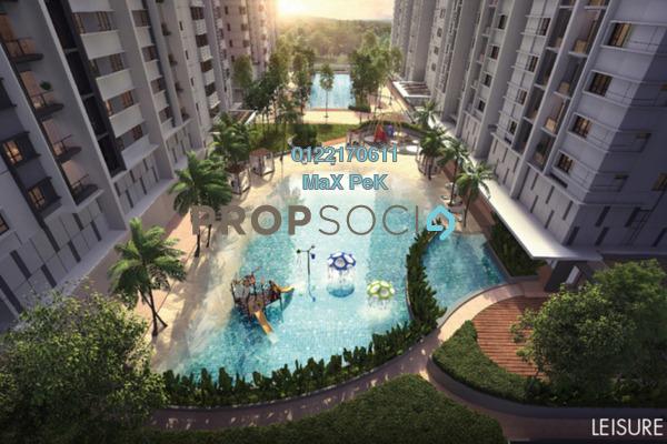 For Sale Condominium at Akasa, Balakong Freehold Semi Furnished 3R/2B 621k