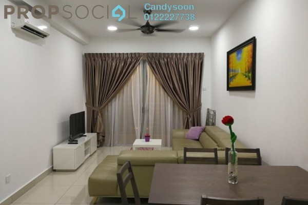For Rent Serviced Residence at Flora Murni, Mont Kiara Freehold Fully Furnished 3R/2B 2.5k