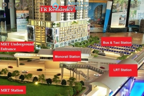 For Sale Serviced Residence at TR Residence, Kuala Lumpur Leasehold Unfurnished 2R/1B 532k