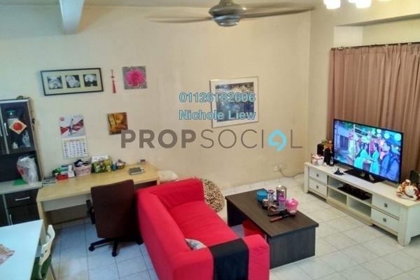 For Sale Link at Section 3, Bandar Mahkota Cheras Freehold Semi Furnished 4R/3B 549k