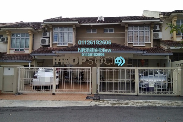 For Sale Link at Seksyen 9, Bandar Mahkota Cheras Freehold Unfurnished 4R/3B 618k
