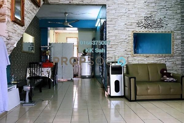 For Sale Link at Taman Kota Pendamar, Port Klang Freehold Semi Furnished 4R/2B 369k